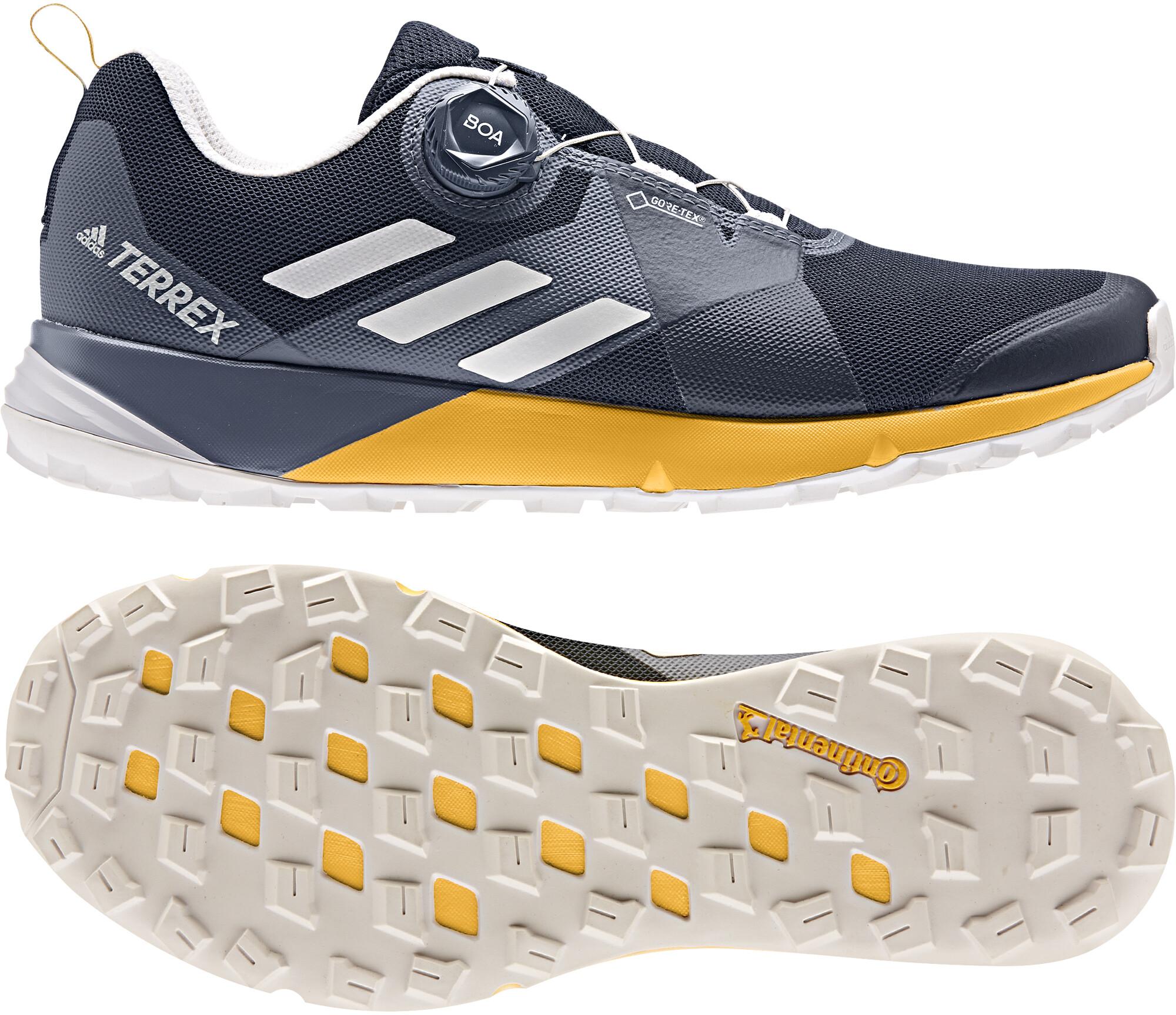 mamífero Riego Negar  ▷ adidas TERREX Two Boa GTX Low-Cut Schuhe Herren collegiate navy/grey  one/active gold online bei Bikester.ch